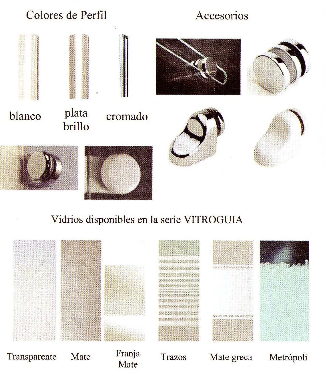 Hermoso accesorios mamparas de ba o im genes platos de for Rodamientos mamparas de ducha
